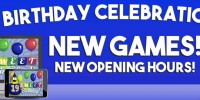 Party time at Cyber Bingo - celebrate 19 glorious years of bringing players bingo at its best
